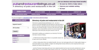 pubandrestaurantlistings.co.uk